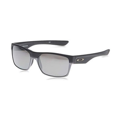 Oakley Men's OO9189 TwoFace Sunglasses, Matte Black/Prizm Black Polarized, 60 mm【並行輸入品】