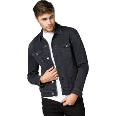 DU/ER メンズ ジャケット&ブルゾン アウター Performance Denim Jacket - Men's Washed Black