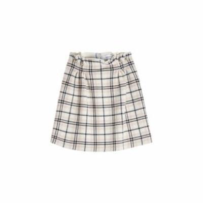 カルヴェン その他スカート Plaid Skirt with Wool multicolored