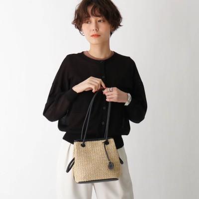 エージー バイ アクアガール AG by aquagirl PPクルミハトメ巾着 (ブラック)