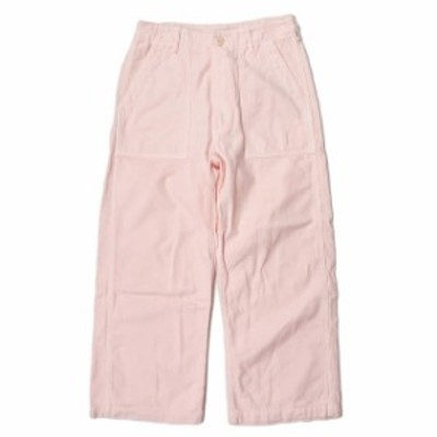 orslow x BEAMS BOY オアスロウ ビームスボーイ 別注 日本製 カラーファティーグパンツ フリー ピンク バックサテン ボトムス