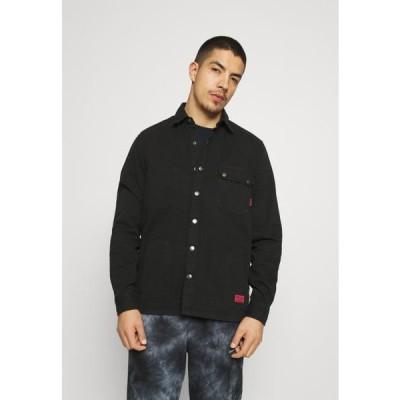 キャットフットウェア メンズ ファッション WORKWEAR - Shirt - black