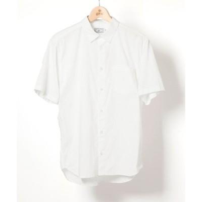 シャツ ブラウス コットンボイル S/Sシャツ