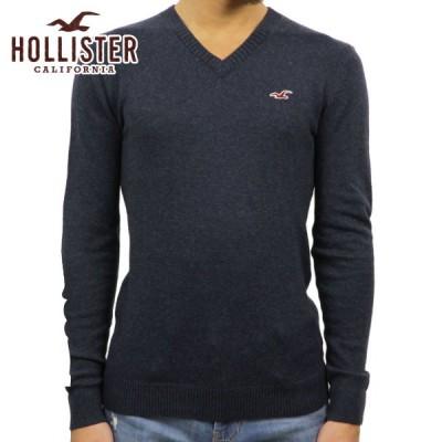 ホリスター セーター メンズ 正規品 HOLLISTER Vネックセーター  Lightweight V-Neck Sweater 320-201-0617-202