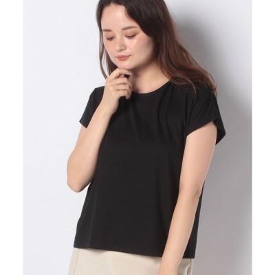 【ルゥデ】★高機能★フレンチスリーブロゴTシャツ(0R15−06129)