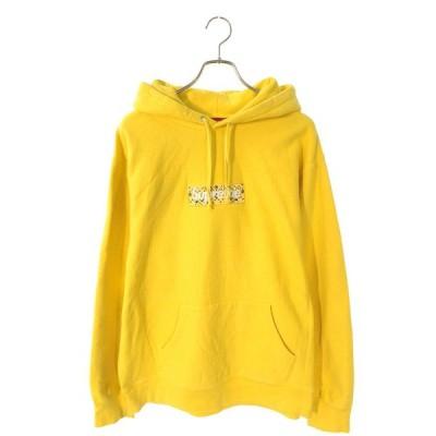 シュプリーム SUPREME 19AW Bandana Box Logo Hooded Sweatshirt サイズ:XL バンダナボックスロゴプルオーバーパーカー 中古 HJ12
