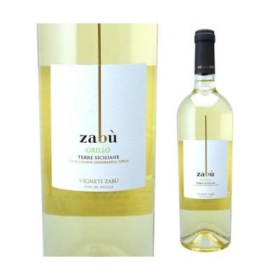白ワイン ヴィニエティ ザブ グリッロ 750ml 辛口 イタリア 長S