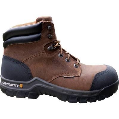 カーハート メンズ ブーツ・レインブーツ シューズ Carhartt Men's Flex 6'' Waterproof Composite Toe Work Boots