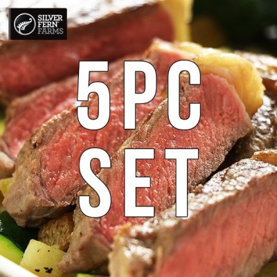 【送料無料】ニュージーランド産 グラスフェッドビーフ サーロインステーキ 270g×5枚(約1.35kg)セット バーベキュー BBQ
