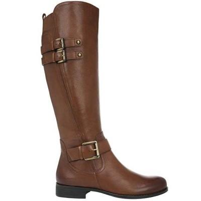 ナチュライザー レディース ブーツ・レインブーツ シューズ Jessie Wide Calf Riding Boots