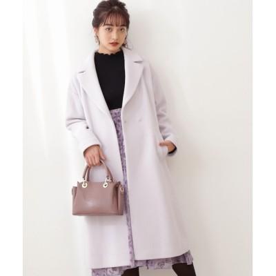 【プロポーションボディドレッシング/PROPORTION BODY DRESSING】 Wモッサチェスターコート