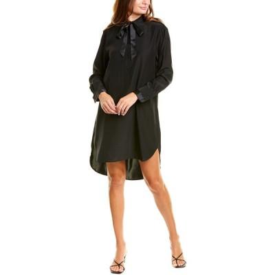 ラグアンドボーン ワンピース トップス レディース rag & bone Arc Silk Tunic Dress black