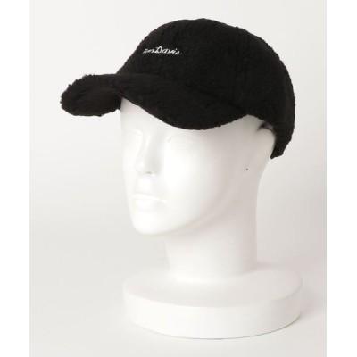 JEANS MATE / 【BEN DAVIS/ベンデイビス】ボアキャップ モコモコ ワンポイントロゴ刺繍 MEN 帽子 > キャップ