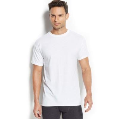 ヘインズ Hanes メンズ トップス x-temp performance crew-neck Undershirt 4-pack White