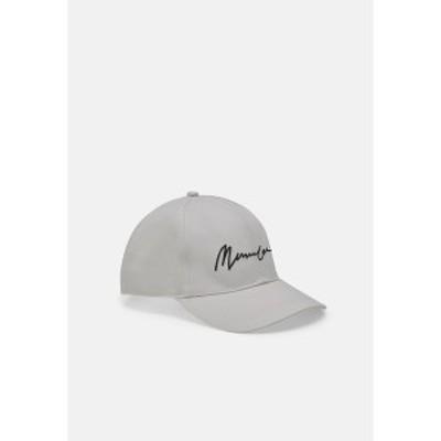 メンナス メンズ 帽子 アクセサリー SIGNATURE BASEBALL LOGO - Cap - white white