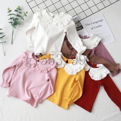 子供服トップスイベント長袖Tシャツ女の子韓国子供服90cm100cm110cm120cm130cm140cmお出かけ着心地良い可愛い子供用