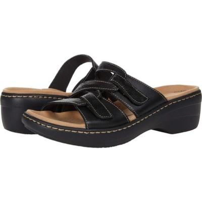 クラークス Clarks レディース サンダル・ミュール シューズ・靴 Merliah Karli Black Leather
