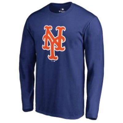 Fanatics Branded ファナティクス ブランド スポーツ用品  New York Mets Royal Team Color Primary Logo Long Sleeve T-Shirt