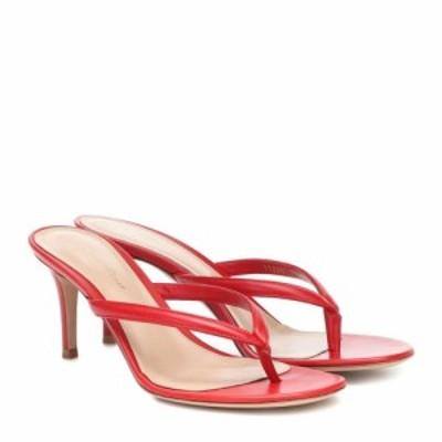 ジャンヴィト ロッシ Gianvito Rossi レディース サンダル・ミュール シューズ・靴 Calypso leather sandals Tabasco Red
