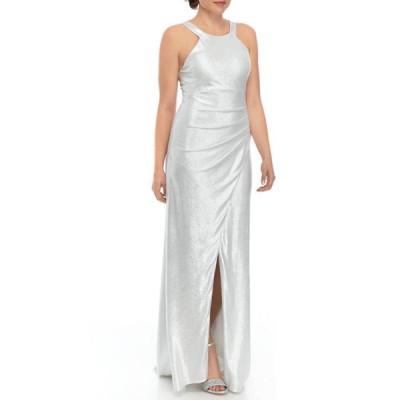 シークインハーツ レディース ワンピース トップス Women's Halter Neck Side Ruched Dress