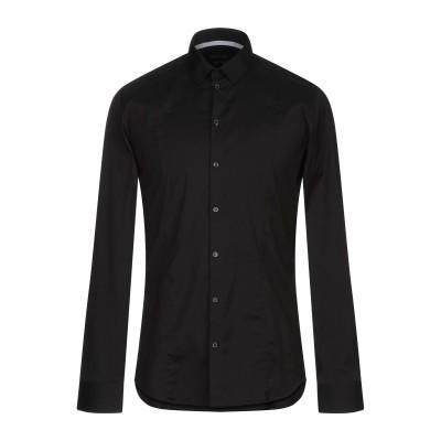 パトリツィア ペペ PATRIZIA PEPE シャツ ブラック 48 コットン 67% / ナイロン 27% / ポリウレタン 6% シャツ