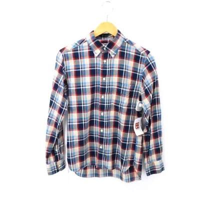 シュガーケーン SUGAR CANE チェックボタンダウンシャツ メンズ S 中古 ブランド古着バズストア 200923