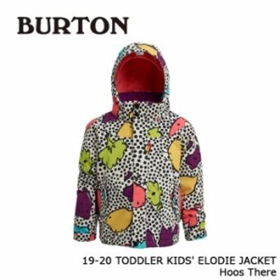 バートン ウェア ジャケット 19-20 BURTON TODDLER KIDS ELODIE JACKET Hoos There キッズ 日本正規品