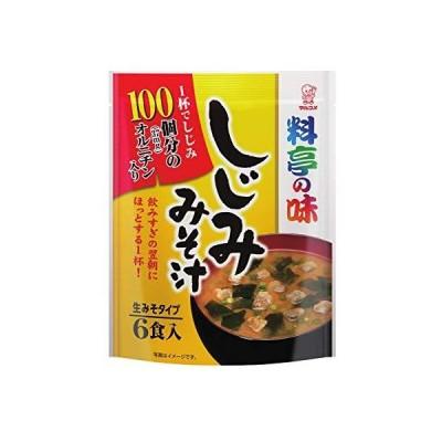 マルコメ お徳用 料亭の味 しじみ 即席味噌汁 6食×7袋