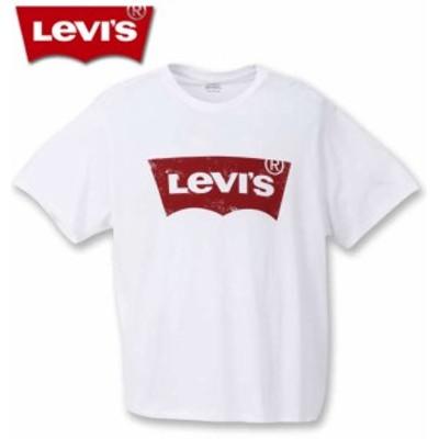 大きいサイズ Levi's 半袖Tシャツ ホワイト 3XL 4XL 5XL/1278-0340-1-30