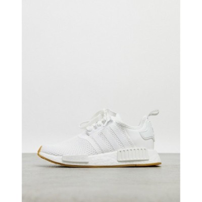 アディダス adidas Originals レディース スニーカー シューズ・靴 Nmd Trainers In Triple White ホワイト