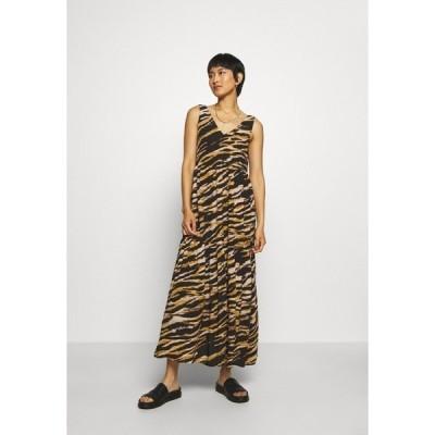 ゲタス ワンピース レディース トップス TIA DRESS - Day dress - black/yellow/white