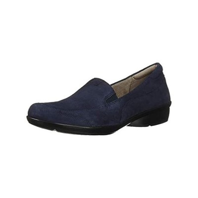Naturalizer Women's Channing Loafer, Navy Suede, 7 M US