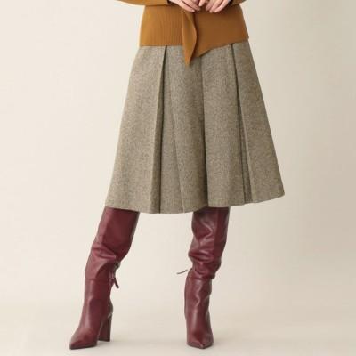 シルクツイードスカート