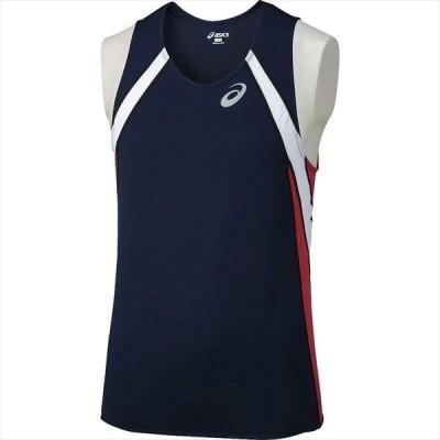 【P3倍&9%OFFクーポン】アシックス メンズ 陸上競技 ランニングウェア ランニングシャツ XT1040 50