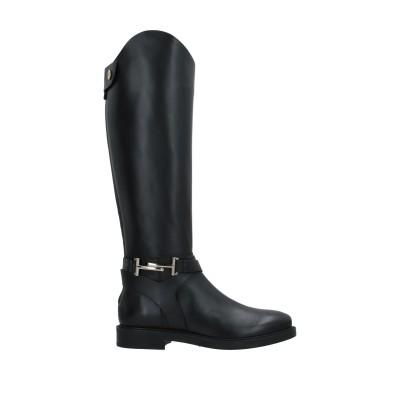 トッズ TOD'S ブーツ ブラック 34.5 革 ブーツ