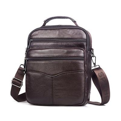 SPAHER 男性用バッグ ショルダーバッグ かばん 斜めバッグ レジャーバッグ ビジネスかばん