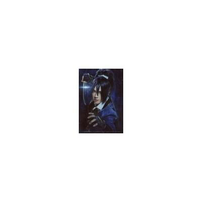 中古生写真(男性) 椎名鯛造(不動行光)/バストアップ・背景青・キャラクターショット/「Blu-ray/DVD 映画『刀剣乱舞-継承-』豪華版」封入
