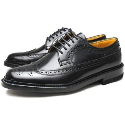 [リーガル] メンズ 靴 ウィングチップ ビジネスシューズ 2E 2589N ブラック 25.5cm