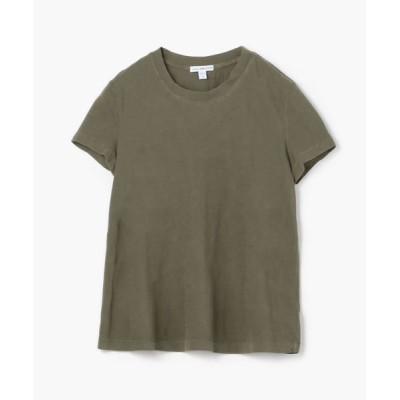 TOMORROWLAND/トゥモローランド ベーシック クルーネックTシャツ WLJ3114 57 カーキ 1(M)