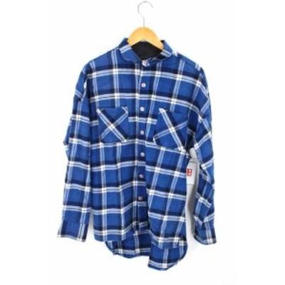 キャスパージョンアイバー CASPER JOHN AIVER ネルシャツ サイズJPN:M メンズ 【中古】【ブランド古着バズストア】