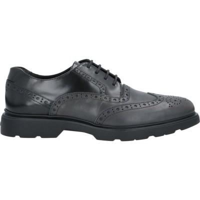 ホーガン HOGAN メンズ シューズ・靴 laced shoes Steel grey