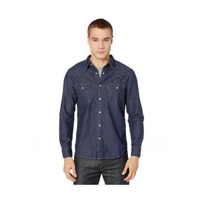 Levi's(R) Premium リーバイス メンズ 男性用 ファッション ボタンシャツ Barstow Western Standard - Red Cast Rinse Marbled