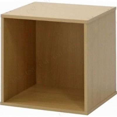 キューブボックス ナチュラル CB35OP(NA) おしゃれ インテリア雑貨 ラック リビング ボックス 見せる収納 魅せる収納 収納棚 本棚 リビン