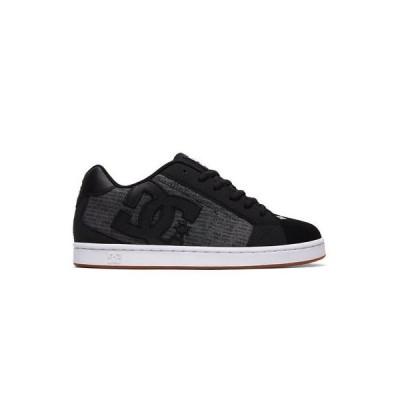 スニーカー ディーシーシューズ DC Shoes Men's Net SE Low Top Sneaker Shoes Heather Black (HE0) Skate Footwear
