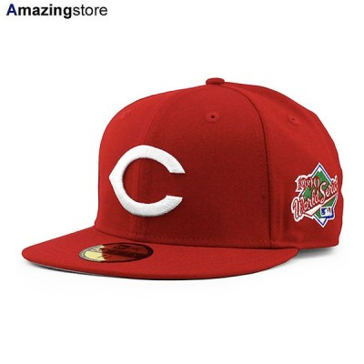 ニューエラ 59FIFTY シンシナティ レッズ 【MLB 1990 WORLD SERIES GAME FITTED CAP/RED】 NEW ERA CINCINNATI REDS