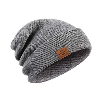 冬用ビーニー帽 男女兼用 伸縮性 ソフト デイリーストッキング キャップ お父さん お母さん 彼 彼女に US サイズ: One Size カラー: