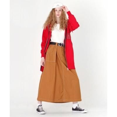スカート G0953 タックステッチロングスカート