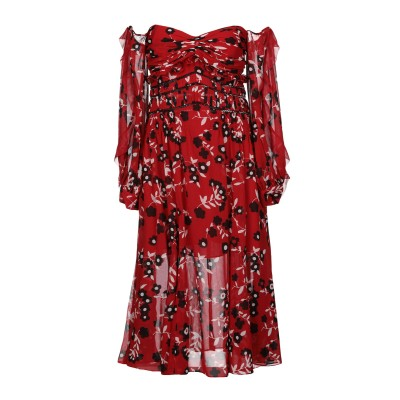 SELF-PORTRAIT ミニワンピース&ドレス レッド 4 ポリエステル 100% ミニワンピース&ドレス