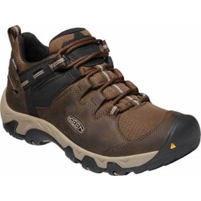 キーン メンズ ブーツ・レインブーツ シューズ Steens Waterproof Hiking Boot Canteen/Brindle