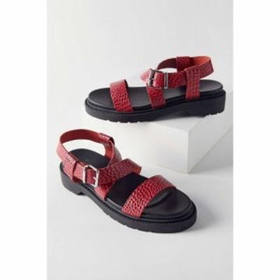 アーバンアウトフィッターズ Urban Outfitters レディース サンダル・ミュール シューズ・靴 UO Anya Sandal Red